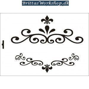 6 Stencil Ornamente