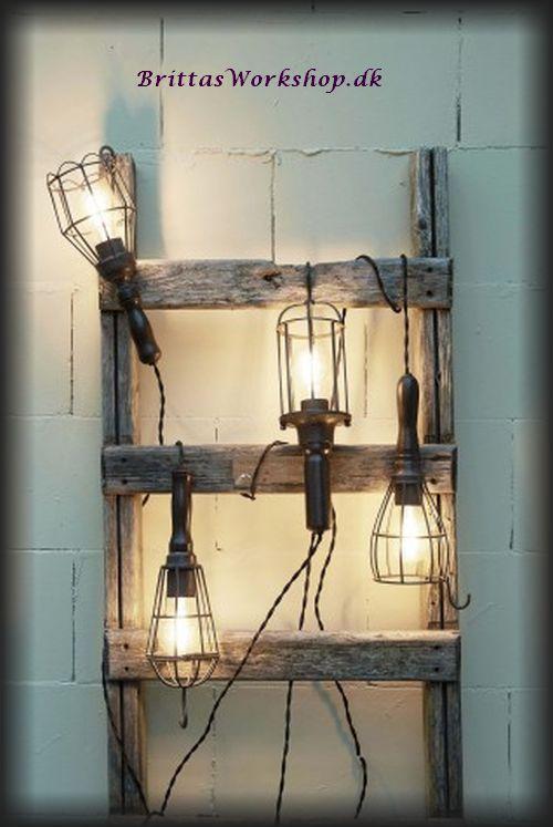 lampe arbejds h ngelampe fra light living brittas workshop. Black Bedroom Furniture Sets. Home Design Ideas