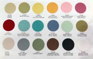 18 farver kalkmaling på spray 2