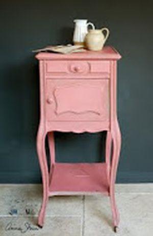 Scandinavian Pink - Kalkmaling fra Annie Sloan - 100 ml. (farveprøve)
