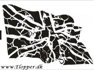 101 Flag stencil / skabelon