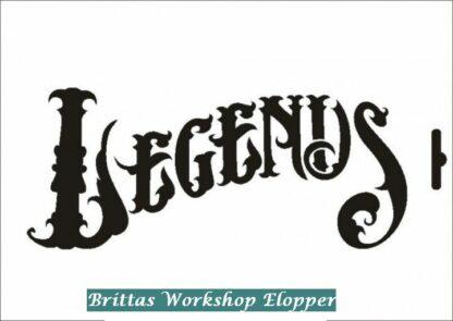 103 Legend stencil / skabelon