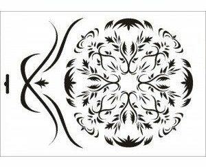 15 Shabby Chic stencil / skabelon
