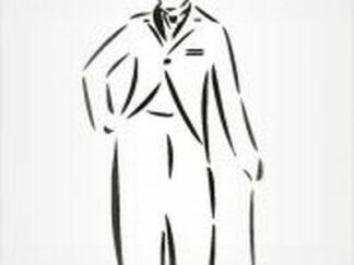 47 Chaplin stencil / skabelon