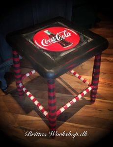 Annie Slaon Coca Cola Skammel med Grephite