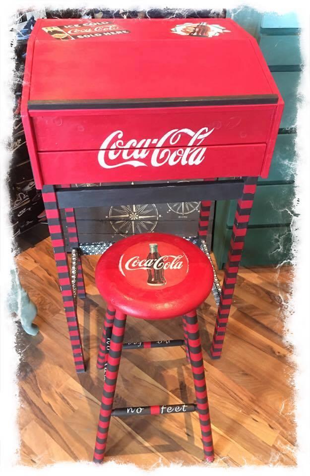 Coca-Cola-med-Annie-Sloan-Chalk-Paint