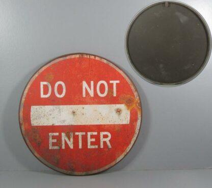 Metalskilt Do Not Enter 51,5x51,5