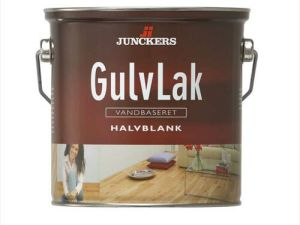 Junckers GulvLak Halvblank, vandbaseret 0,75 ltr.