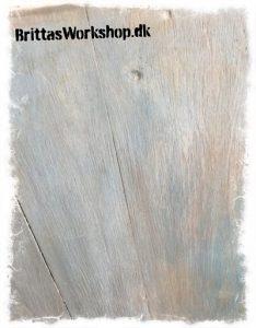 Annie Sloan Chalk paint lavering og wash med kalkmaling