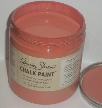 31 Scandinavian Pink - Kalkmaling fra Annie Sloan - 250 ml