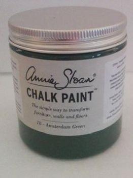 18 Amsterdam Green - Kalkmaling fra Annie Sloan – 250 ml