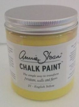 21 English Yellow - Kalkmaling fra Annie Sloan - 250 ml