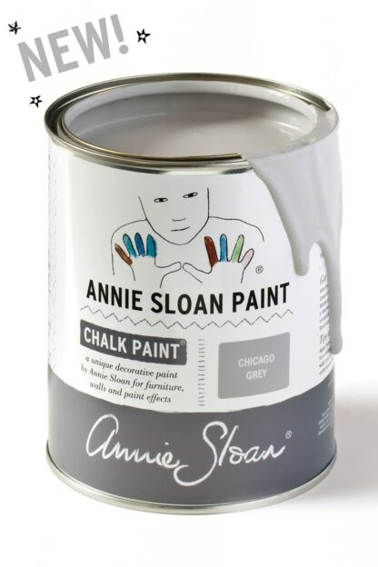 Annie Sloan Kalkmaling Chalk Paint Chicago Grey