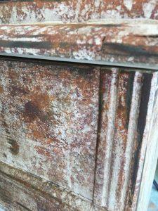 Rusteffekt med kalkmaling fra Annie Sloan Chalk Paint